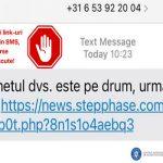 Atentie la malware. O noua frauda prin SMS